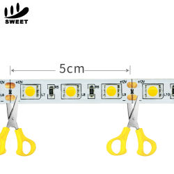 La moda 16,4m 5m SMD 5050 TIRA DE LEDS RGB LED impermeable de color RGB de 300 Cambio de luz LED DE TIRA flexible