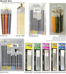 Borste-Lack-Pinsel des China-hochwertiger flacher Künstler-(KÜNSTLER-LACK-PINSEL-SET), China-Lack-Pinsel, China-Lack-Rolle, Künstler-Pinsel