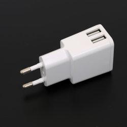 Doppel-USB-Aufladeeinheit 5V2.4A mit Reichweite Cer GSerp-RoHS