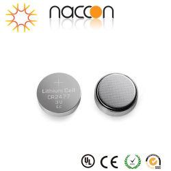 전자를 위한 Non-Rechargeable Cr2477 3V 1000mAh 리튬 단추 세포