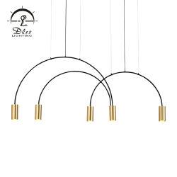 상업적인 상점 현대 Luminaire 앙티크 철 알루미늄 LED 펀던트 램프