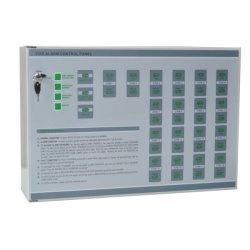 2 Detector van de Rook van de draad verbindt de Conventionele het Controlebord van het Brandalarm