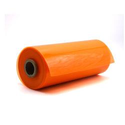 500 미크론 반투명 주황색 색깔 플라스틱 PVC 장 롤