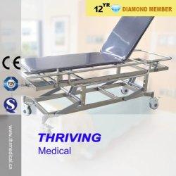 De Kar van de Brancard van het Vervoer van het Roestvrij staal van het ziekenhuis (thr-e-5)