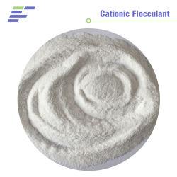 Bas prix de l'industrie chimique polymère cationique agent de floculation pour rendre l'industrie du papier