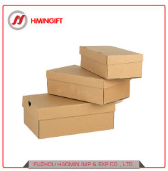 Het vierkante Karton die van het Embleem van de Douane van de Doos van de Schoenen van de Opslag van Af:drukken Vouwbare de Goedkope Duidelijke Dozen van de Schoen verpakken