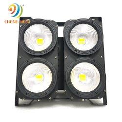 Nuevo estudio de la luz estroboscópica audiencia Blinder 4*100W LED de 4 ojos Blinder para Espectáculo de Luz