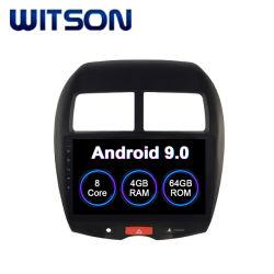 Android Witson 9.0 Carro DVD Player para Mitsubishi Asx 2010-2012 4 GB de RAM 64GB Flash grande ecrã no aluguer de DVD
