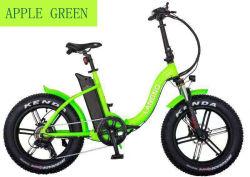 Aleación de 20 pulgadas de nieve grande bicicleta eléctrica plegable bicicleta llantas de una rueda