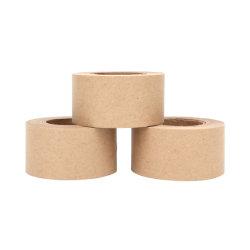 Singoli autoadesivi parteggiati Caldo-Fondono il sigillamento adesivo Kraft della scatola di nastro di carta
