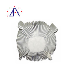 Berufs- und zuverlässiger Hersteller-Gussaluminium-Kühlkörper-Kühler mit Ventilator
