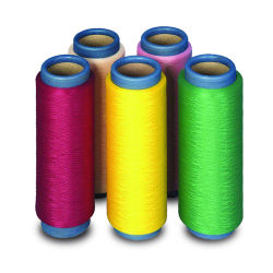品質のAtyの最もよい空気はポリエステルによって回されたヤーンを縫う円錐形を織った