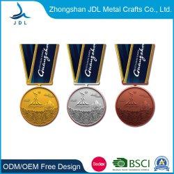 熱販売の注文の安い鉄のスタンプ光沢がある金めっきされたスポーツ Taekwondo のレスリングのゲーム賞のメダルおよびトロフィー (174)