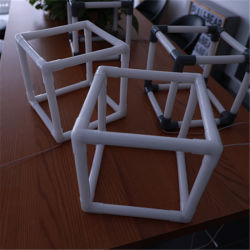 نافذة ثلاثية الأبعاد عرض مربع تأثير RGB