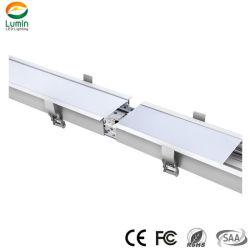 Conexão perfeita Shenzhen Factory 90*35mm Linear Pendente de luz de iluminação LED