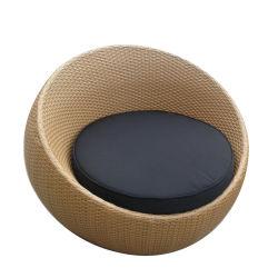 Patio al aire libre muebles de ratán Pumkin Ronda estilo único Sofá Junco (S0701)