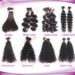 Großhandelspreis Brasilianische menschliche Jungfrau Haar für schwarze Frauen