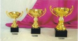 Trofeo del metallo dell'allievo, base di marmo. Vendita al dettaglio e commercio all'ingrosso