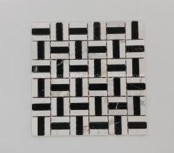 Le prix de gros de marbre poli Pierre carreaux de mosaïque carré