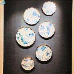 La Chine usine peinture sur verre pour la Maison et décoration de l'hôtel (MR-YB6-2054B)