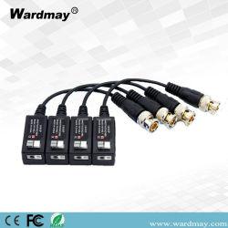 1CH activo Combinable HD-CVI/Tvi/Ahd pasiva vigilancia CCTV Video Balun BNC UTP