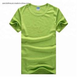 I Mens raffreddano la maglietta materiale del poliestere di sport del T dell'interruttore di sicurezza di prestazione di misura di stampa a secco di sublimazione