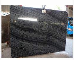 رخام أسود داكن من الخشب العتيق للمطبخ/سطح الطاولة/سطح الزينة/الحائط/الأرضية/مادة البناء