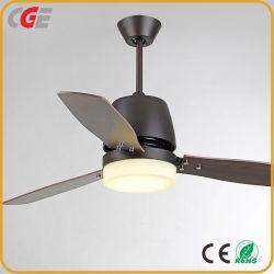 AC Ventilator Plafondventilator van de Motor van het Blad gelijkstroom van het Triplex van de Consumptie van de Macht van 52 Duim de Lage Buitensporige Met de Lichte Elektrische Ventilator van de KoelVentilator