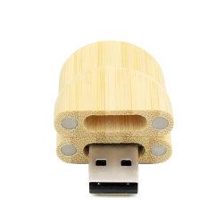 Hölzerner USB-greller Drive16GB 32GB 64GB Feder-Antriebskeil-Geschenk-Stock Feder-Laufwerk-Speicher USB-2.0