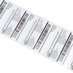 Werkseitig Direkt Qr/Barcode Selbstklebendes Etikett Sicherheitsetikett Aufkleber