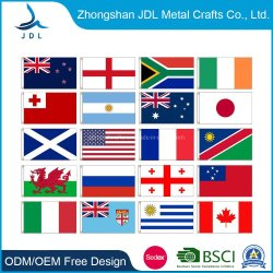 Großhandel Custom Polyester Pole Banner Union Jack/Pride/NFL/Ulster/Golf/Outdoor/National/Teardrop/Strand/American/Feather/Company/Car Football Printing Flagge
