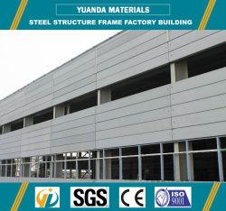 preço de fábrica Prefab armazém com estrutura de aço e painel de AAC