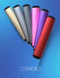 Commerce de gros 300mAh Vape portable stylo jetable 400 bouffées d'E-Cigaret aucun bouton Mini cigarette électronique