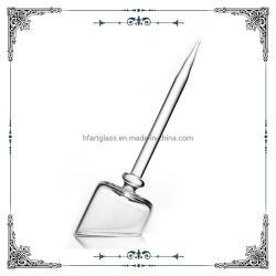 ガラス製の喫煙用ウォーターパイプアクセサリ、透明な石英キャップ、ロッド付き クォーツバンガーキャップ