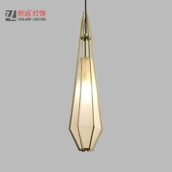 De moderne Lamp van de Tegenhanger van de Zaal van de Studie van het Frame van het Metaal van de Wasserij Acryl Creatieve