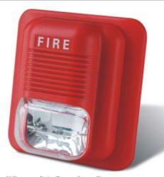 Проводная импульсная лампа аварийной сигнализации звуковой оповещатель пожарной сирены охранной сигнализации с вспышка DC 12-30V