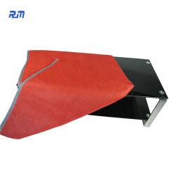 주문을 받아서 만들어진 빨간 경제 100 폴리에스테에 의하여 재생되는 면 이동하는 담요