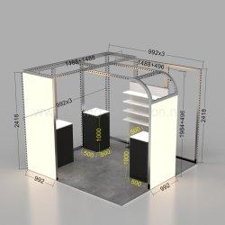 Feria el Stand de exposición equipo
