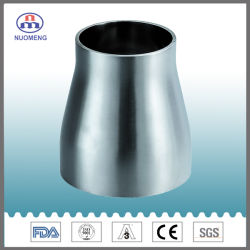 Rohrverschraubung aus Edelstahl für Sanitär: Geschweißt mit Geraden Enden, Konzentrisches Reduzierstück (SMS-T1-Nr. NM043154)