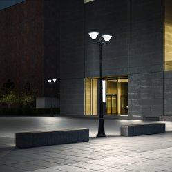 Fabricant de gros de 20W Outdoor Post haut jardin de l'éclairage LED de puissance solaire Pole lumière