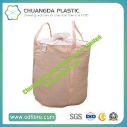 Ronde FIBC Jumbo tas met duffle of Spout Top voor Verpakkingsmateriaal