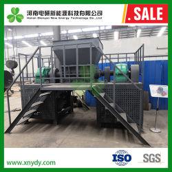 La Chine usine de haute qualité de l'arbre double de la ferraille Mise au rebut de la machine de déchiquetage de voiture avec certificat CE déchiqueteuse
