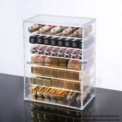 Kosmetisches Verfassungs-Organisator-Schmucksache-Schaukarton-Badezimmer-Speicher-Fall-acrylsauerset