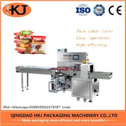 2019薬、月ケーキ、パンおよびハードウェア(HKJ-250X)のための新しい枕包装機械
