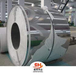 Ss Bouwmateriaal 304, 304L, 316L, 904L de Koudgewalste Prijs van de Rol van het Blad van het Roestvrij staal met Oppervlakte 2b/Ba eindigt