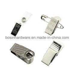 Clip del metallo per il supporto di distintivo di identificazione