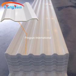 열 절연제 창고를 위한 다채로운 빈 플라스틱 UPVC 기와 PVC 지붕 장
