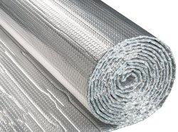 Preiswerte doppelseitige Luftblasen-reflektierende Aluminiumfolie-Rolle