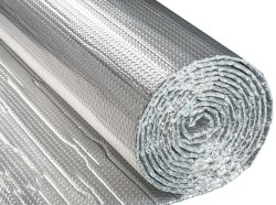 Bulle recto-verso rouleau d'aluminium réfléchissant