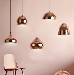 Deco hogar LED modernos nórdicos iluminación colgante Cafe Dormitorio Salón